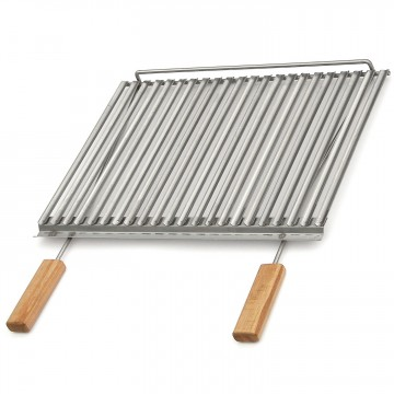 Bistecchiera biologica in inox 57 X 50 cm SUNDAY GRILL - 400058
