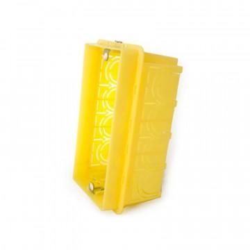Scatola in resina da incasso per quattro moduli 135x74x53,5 mm - BTICINO BTI504E