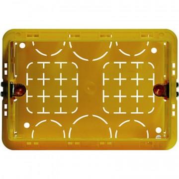 Scatola in resina da incasso per tre moduli 108x74x53,5 mm - BTICINO BTI503E