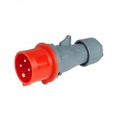 Spina mobile a bassa tensione 50/60Hz 380/415V 16A - 3P+T - ROSI 9214