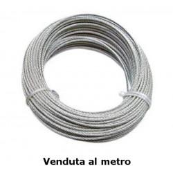Fune commerciale zincata, Ø 5 mm - costo al metro - FUNI 90