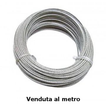 Fune commerciale zincata, Ø 6 mm - costo al metro - FUNI 90