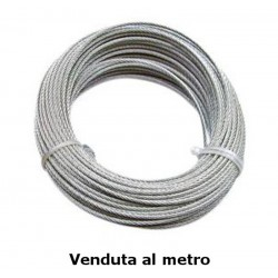 Fune commerciale zincata, Ø 8 mm - costo al metro - FUNI 90