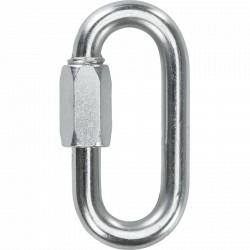 Maglia ovale in acciaio zincato mm 8 - STAMPERIA CARCANO GIUSEPPE A06408