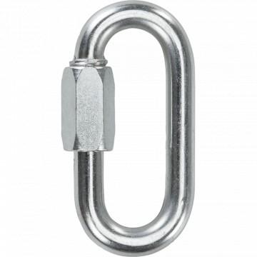 Maglia ovale in acciaio zincato mm 12 - STAMPERIA CARCANO GIUSEPPE A06412