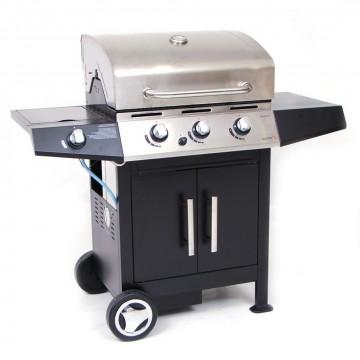 """Barbecue a Gas Sochef """"Golosone 3"""" 127x60x115cm - G45129"""