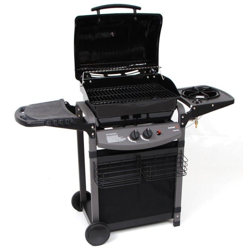 Barbecue a gas sochef pi saporillo 130x53x105cm g20513 for Giordano shop barbecue a gas