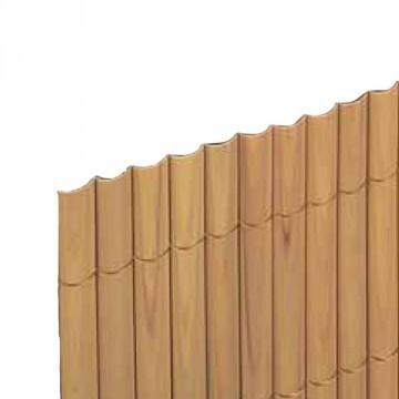 Arella in plastica con listelli semplici da 20 mm legati con filo in poliestere misura 1,5x3 metri