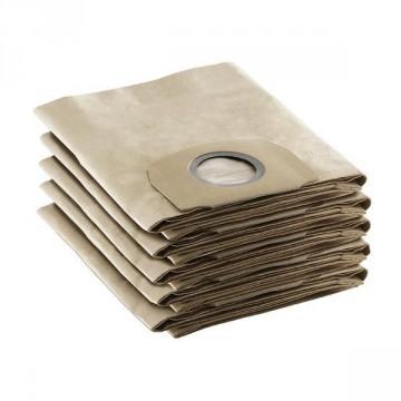 Sacchetto filtro in carta per Aspiratore KARCHER WD Serie 4-5 69044090 conf. 5 pz