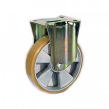 """Ruota in poliuretano """"TR"""" fissa con nucleo in alluminio - 100x30 - TELLURE ROTA 658602"""