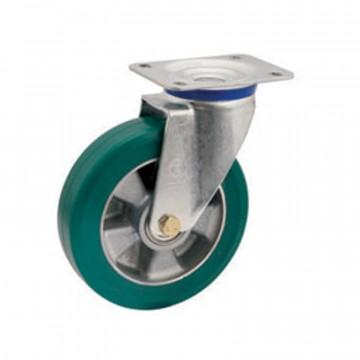 """Ruota in poliuretano """"TR Roll"""" girevole con nucleo in alluminio - 160x50 - TELLURE ROTA 624504"""
