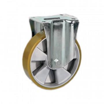 """Ruota in poliuretano """"TR"""" fissa con nucleo in alluminio - 150x40 - TELLURE ROTA 658104"""