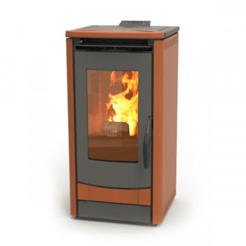Stufa Pellet THERMOROSSI - 1000 METALCOLOR 7.5 KW - disponibile in 4 COLORI