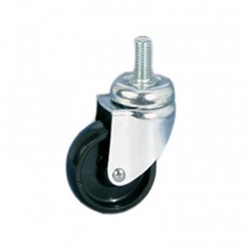 Ruota in poliammide 6, supporto rotante codolo - 50x17 - TELLURE ROTA 326102