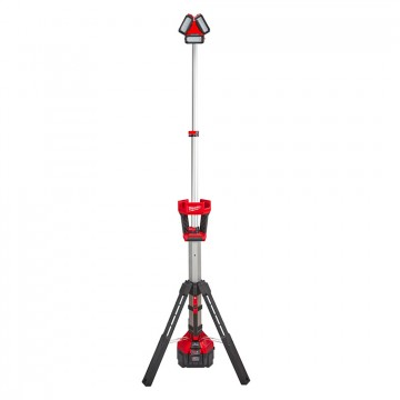 Faro LED M18 HSAL-0 TRUEVIEW™ ROCKET™ 18V multidirezionale con treppiede - MILWAUKEE 4933451392