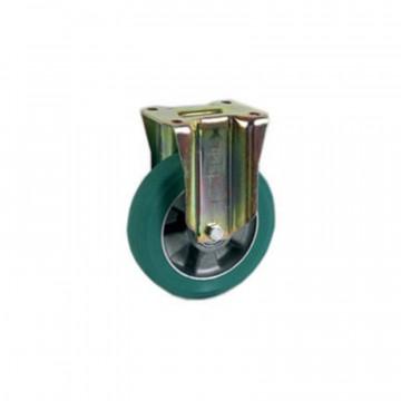 """Ruota in poliuretano """"TR-ROLL"""" fissa con nucleo in alluminio - 160x50 - TELLURE ROTA 627704"""