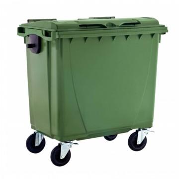 Cassonetto per rifiuti - lt. 660 - disponibile in diversi colori - JCOPLASTIC