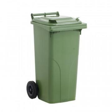 Bidone per rifiuti con ruote e coperchio - lt. 240 - disponibile in diversi colori - JCOPLASTIC