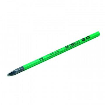 Scalpello per muratore temprato riaffilabile a punta - 14x300 - PAVAN 4101026