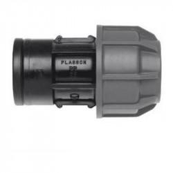 """Raccordo femmina a compressione per acquedotti e fluidi in pressione - 16 x 1/2"""" - PLASSON ITALIA 140300016005"""