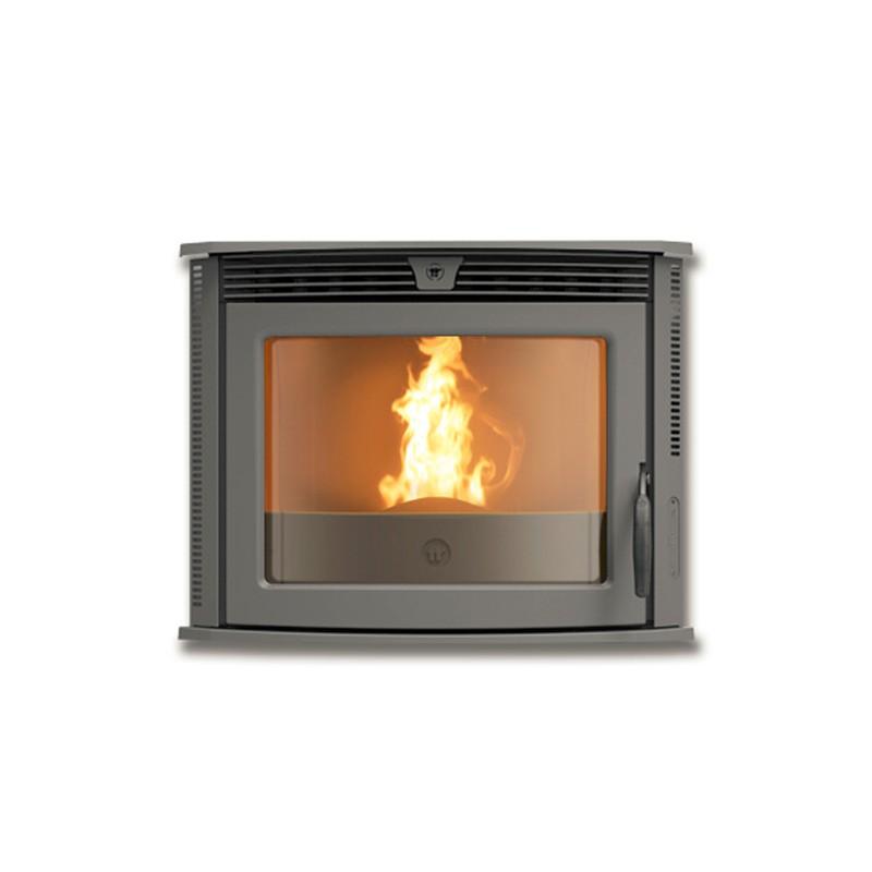 inserto a pellets thermorossi insert 60 con kit rapido mobile per caricamento pellet. Black Bedroom Furniture Sets. Home Design Ideas
