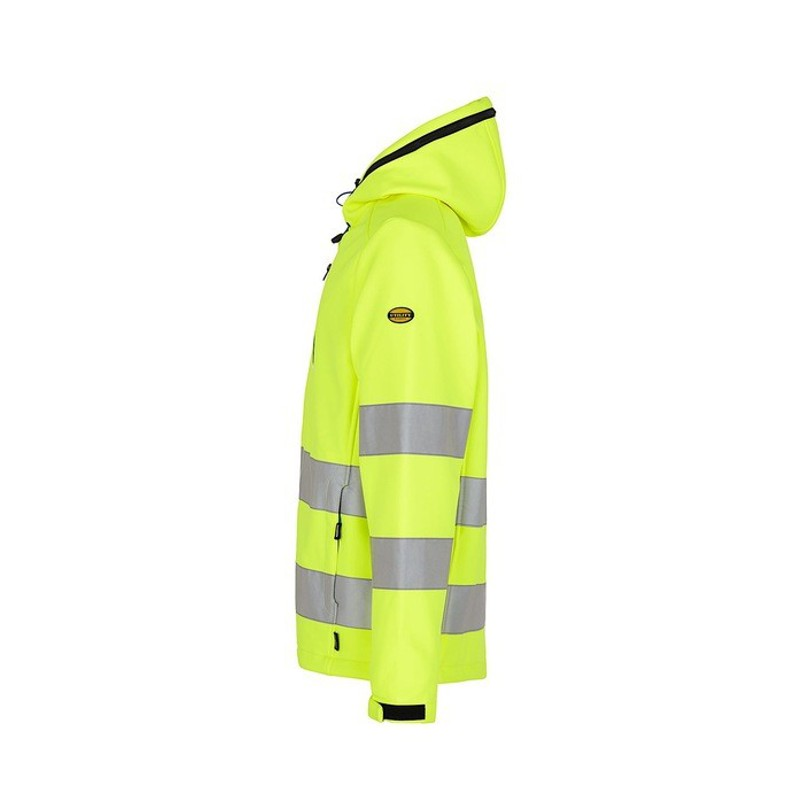 giacca da lavoro unisex softshell hv diadora utility giallo 170687 97034 8a5cc05427c