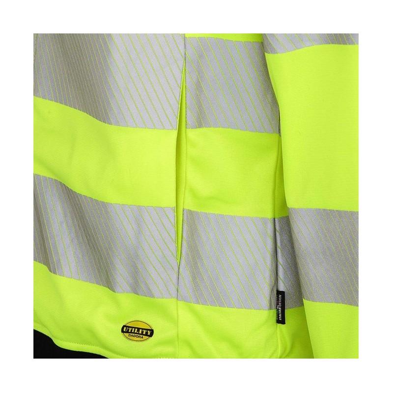 diadora utility giacca giallo