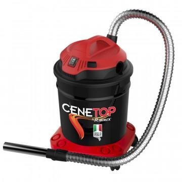 Aspiracenere Elettrico CENETOP capacità 18L con tasto pulizia filtro - RIBIMEX