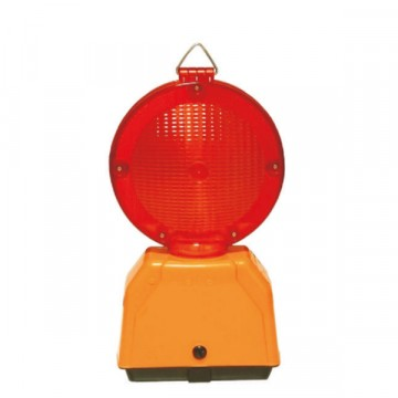 Lampeggiatore led euroflash rosso bifacciale Fisso - SISAS 202000023