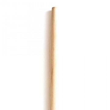 Manico in legno per rastrello in ferro lungo con punta