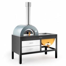 Acquista i nostri forni in acciaio in catalogo - Forno a legna in acciaio prezzi ...