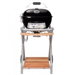 """Barbecue sferico a Gas con 1 Bruciatore Classic Line - OUTDOORCHEF """"AMBRI 480 G"""" colore nero - 18.127.49"""