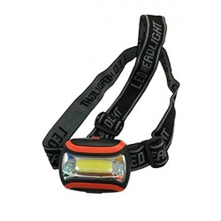 Torcia leggera da testa EL025 in ABS - LED 3 Watt - CFG
