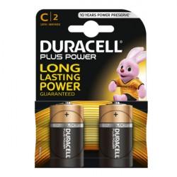 Confezione da 2 pile LR14/MN1400 Duracell Plus Power C