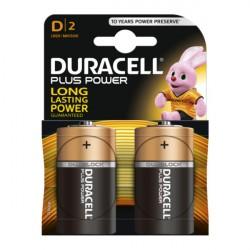 Confezione da 2 pile LR20/MN1300 Duracell Plus Power D