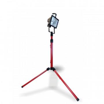 Faretto alogeno portatile con Piantana Telescopica 500w - FRIGGERI FL-FLG500CT
