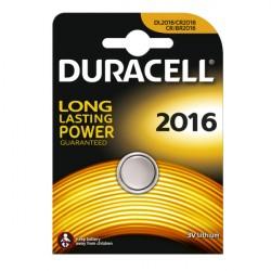 Confezione da 1 pila a bottone DL2016 3V Lithium Duracell