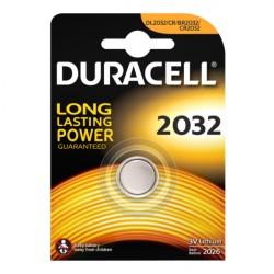 PConfezione da 1 pila a bottone DL2032 3V Lithium Duracell