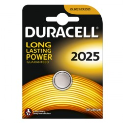 Confezione da 1 pila a bottone DL2025 3V Lithium Duracell