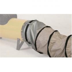 "Guaina flessibile in PVC per Generatore Mobile d'aria Calda OKLIMA ""SK88C"" - lunghezza 6 m"