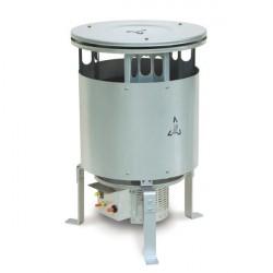 """Generatore Mobile d'aria Calda OKLIMA """"SW128"""" a GPL ad Irraggiamento/Convezione"""