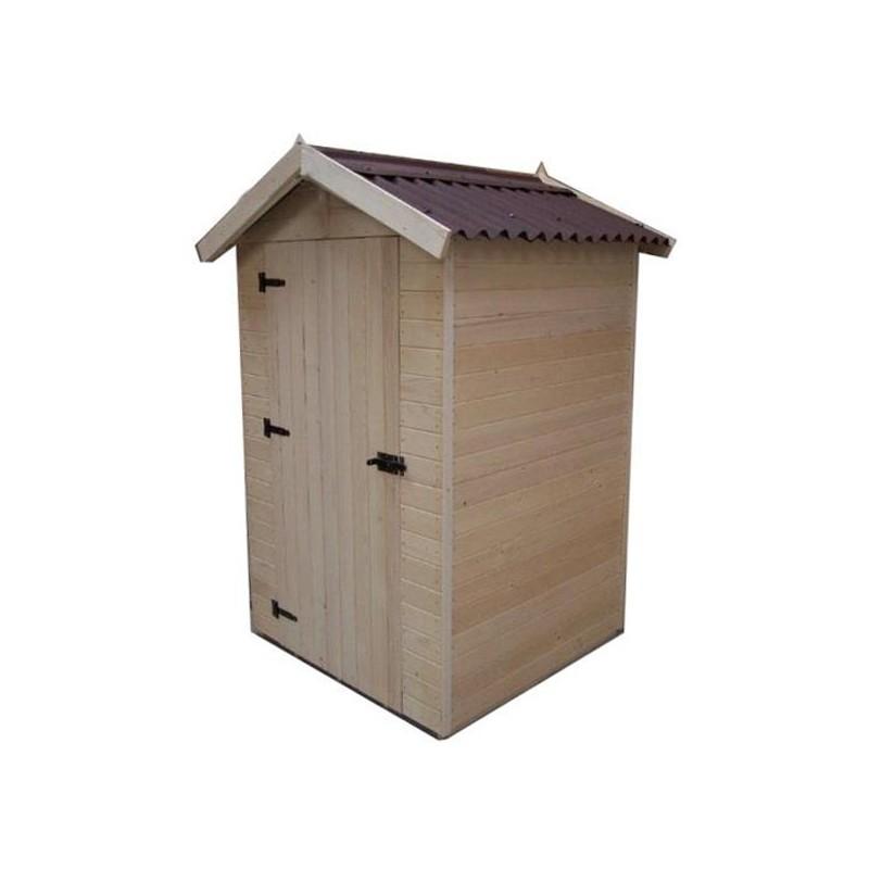 Casetta da giardino in legno 120x120x203 h eden 1212 - Casette da giardino in resina ...