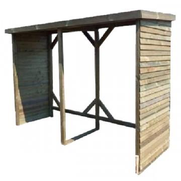Legnaia in legno 280x110x208 h rb 280110 foresta rb for Brico arredo agrigento
