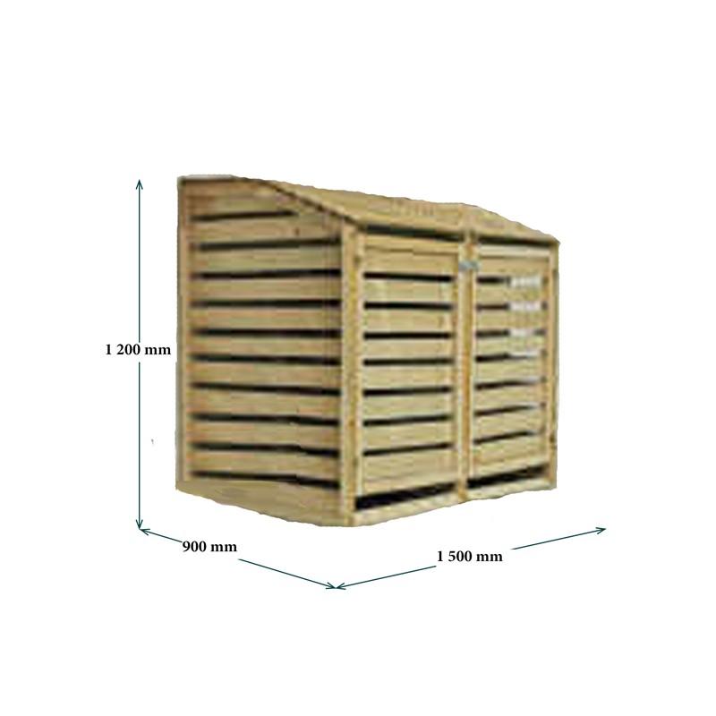 Bidoni per raccolta differenziata da esterno - Bidoni per differenziata casa ...