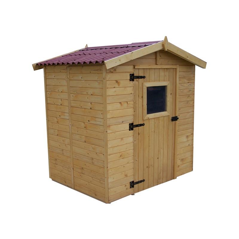 Casetta da giardino in legno 160x160x210 h eden 1616 - Casetta in legno da giardino bianca ...