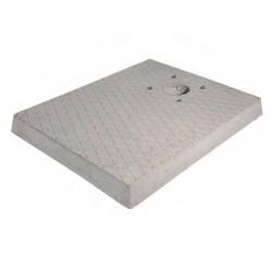 Base in cemento H. 5 x L. 50 x P. 40 cm - BEL FER 42/BSC/3
