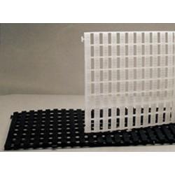 Pedana componibile in plastica colore Bianco 115 x 58 x 3 cm