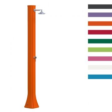 """Doccia Solare in Polietilene """"Big Happy con Lavapiedi"""" - 40 Litri - Disponibile in 8 colori - ARKEMA"""