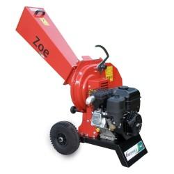 Biotrituratore ZOE Motore a scoppio B&S - AGRINOVA ZO50B2 Sistema lame e martelli ∅ max rami 55 mm - MADE IN ITALY