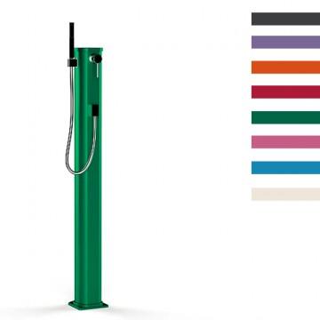 """Doccia Solare in Alluminio """"Jolly Go"""" - 23 Litri - Disponibile in 8 colori - ARKEMA JG 140"""